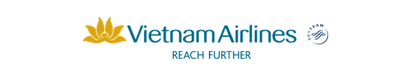Vietnam Airlines logo and slogan, Skyteam