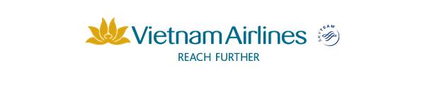 Vietnam Airlines logo and slogan, Skyteam