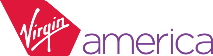 Virgin America logo, logotype