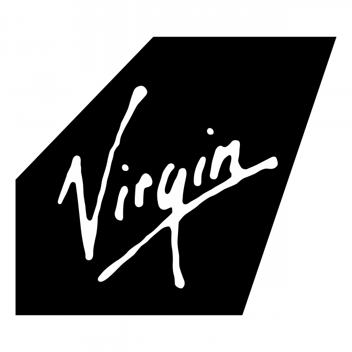 Virgin Atlantic logo black