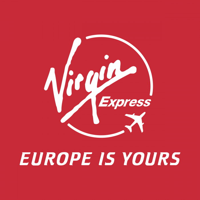 Virgin Express logo Europe