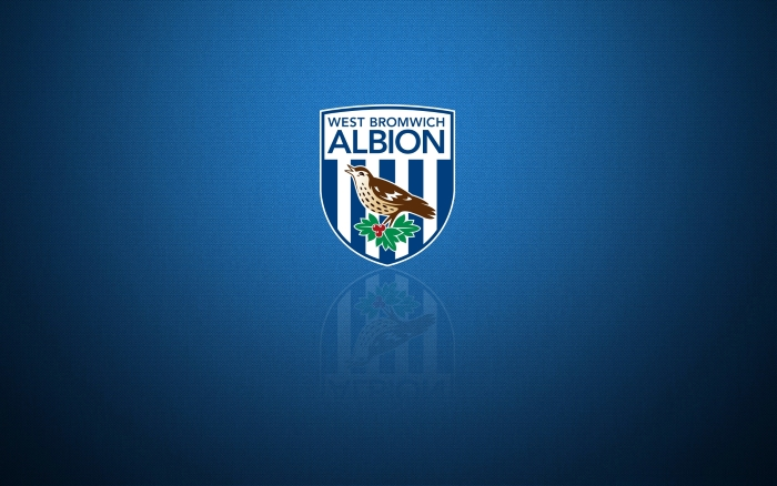 West Bromwich Albion wallpaper, background with club, crest 1920x1200