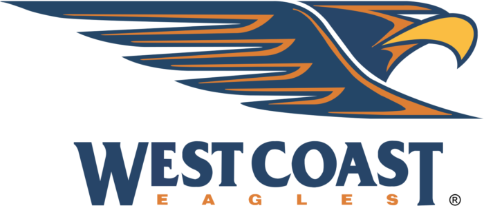 West Coast Eagles logo, logotype