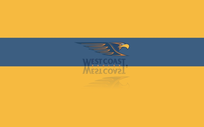 West Coast Eagles FC wallpaper, desktop background with team logo - 1920x1200px