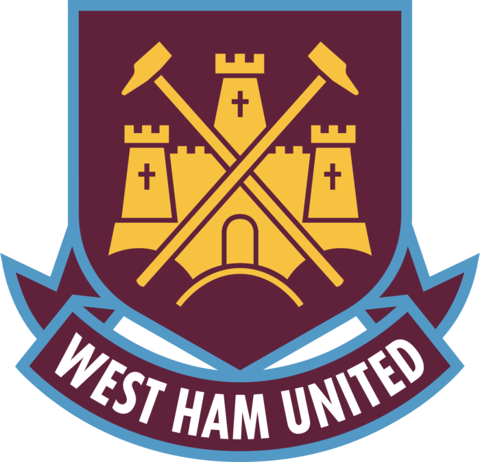 West Ham United crest, logo