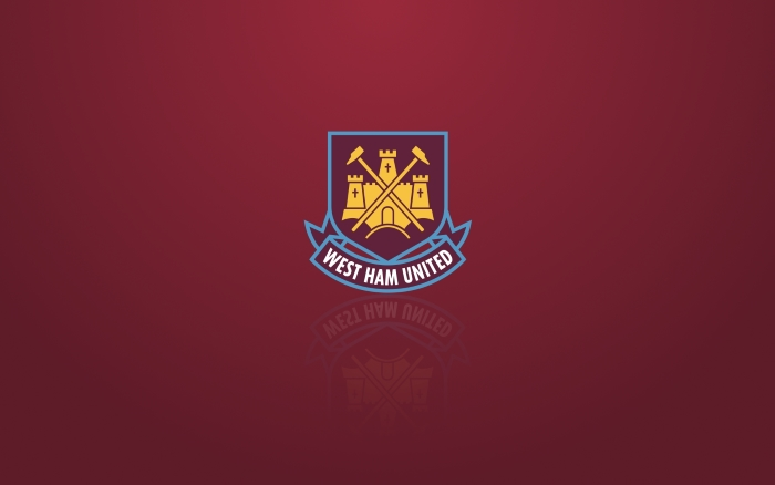 West Ham United wallpaper with logo - 1920x1200