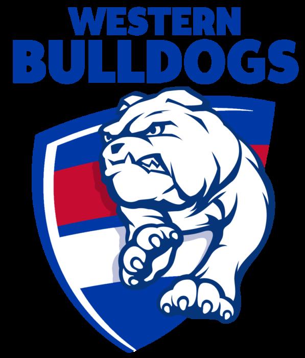 Western Bulldogs FC logo, logotype