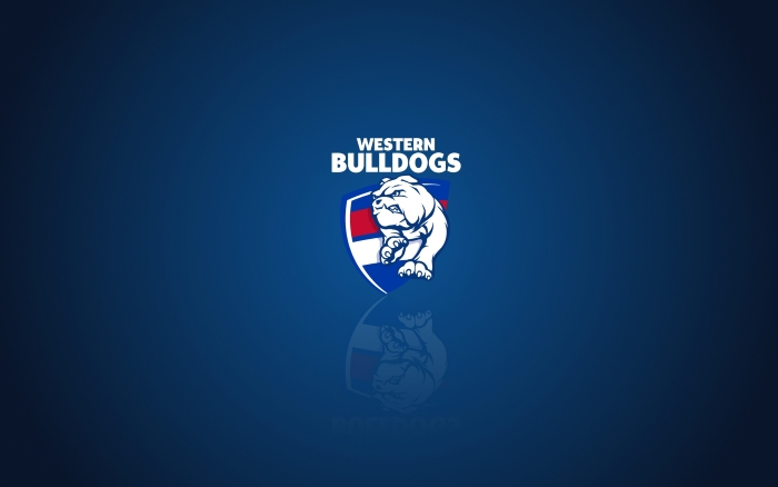 Western Bulldogs wallpaper, widescreen desktop background with team logo, 1920x1200 px