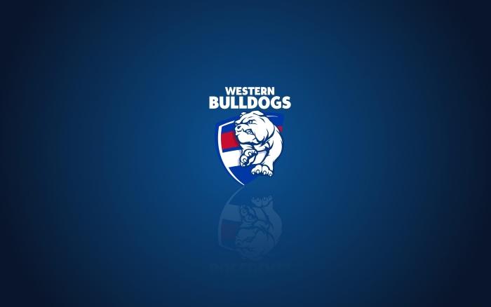 Western Bulldogs wallpaper, widescreen desktop background with team logo, 1920x1200 px
