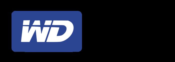 Western Digital logo, logotype, emblem