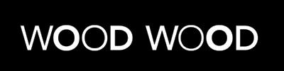 Wood Wood logo, black bg