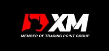 XM.com logo, black