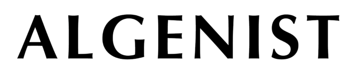 Algenist logo, wordmark