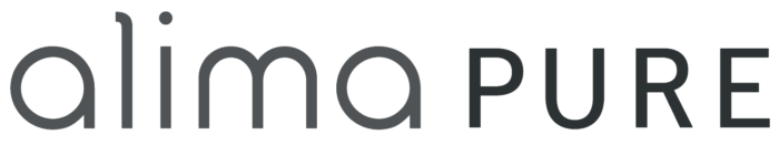 Alima Pure logo, wordmark