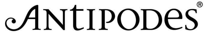 Antipodes Skincare logo, wordmark