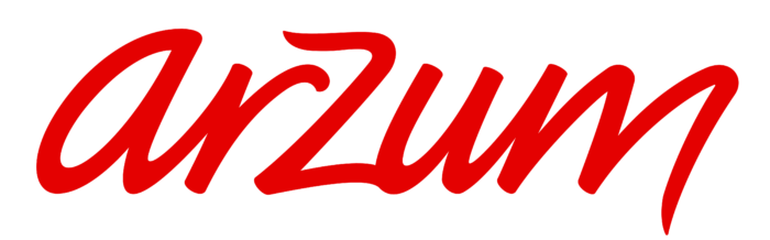 Arzum logo, white background