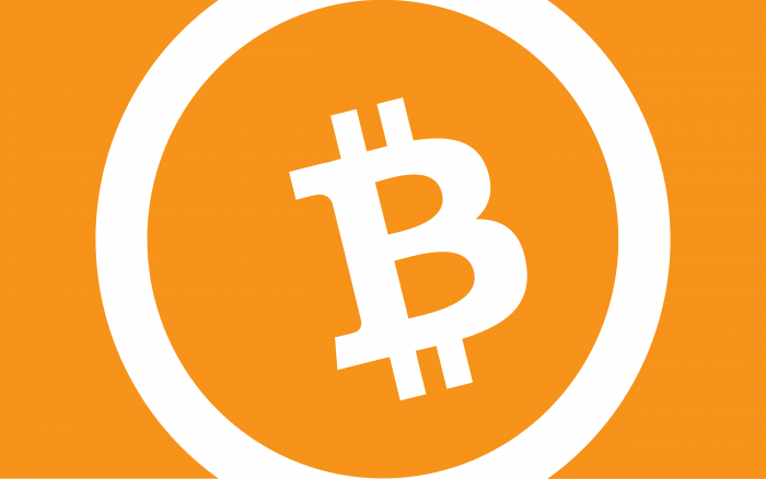 Bitcoin logo yellow