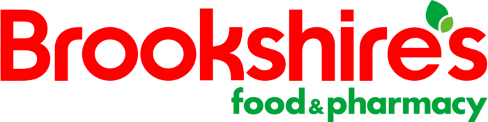 Brookshire's Food and Pharmacy logo, bright