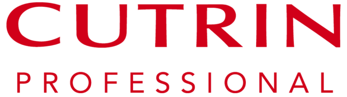 Cutrin Professional logo, red