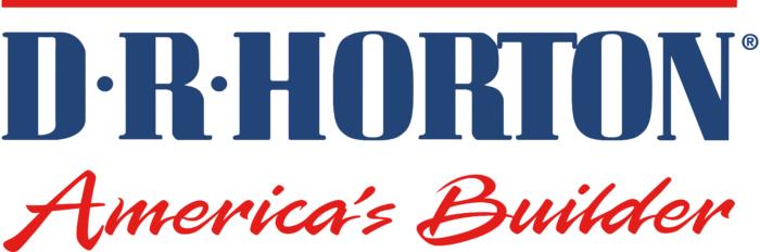 D.R. Horton logo, white background