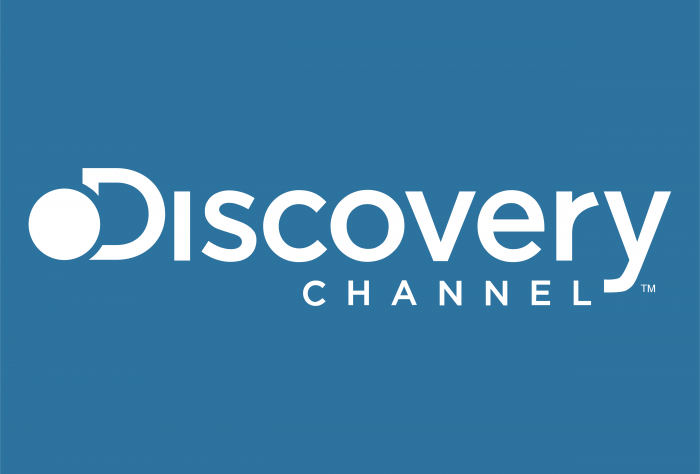 Discovery Channel logo blue