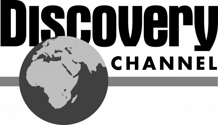 Discovery Channel logo grey
