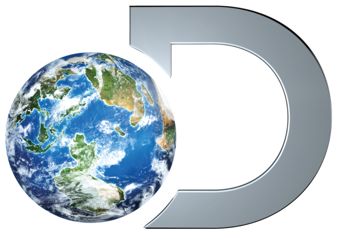 Discovery logo (D letter and planet)
