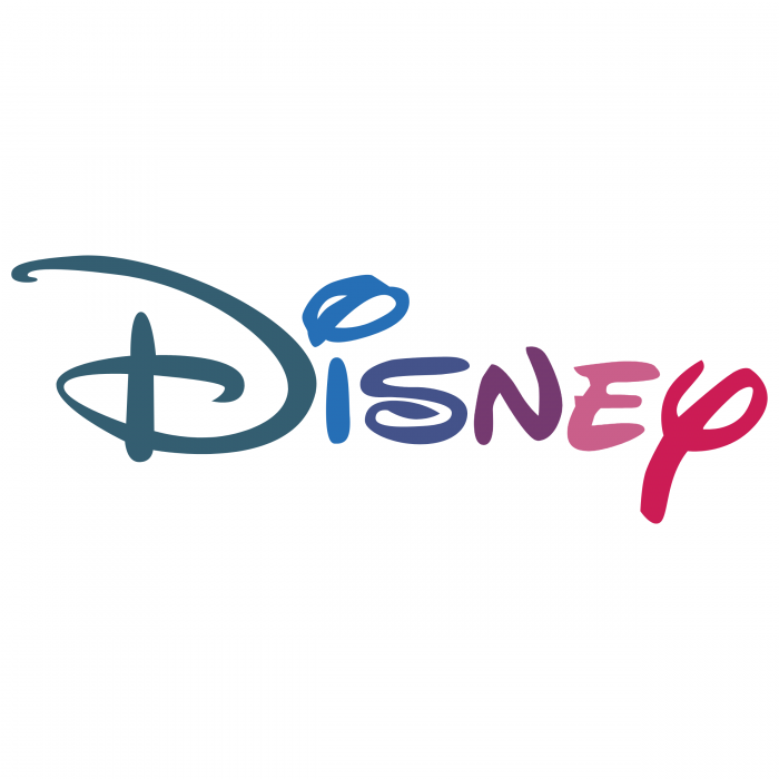 Disney logo colored