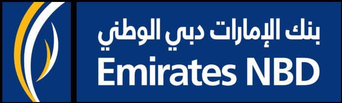 Emirates NBD logo, arabic