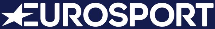 Eurosport logo, blue background