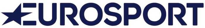 Eurosport logo, white background