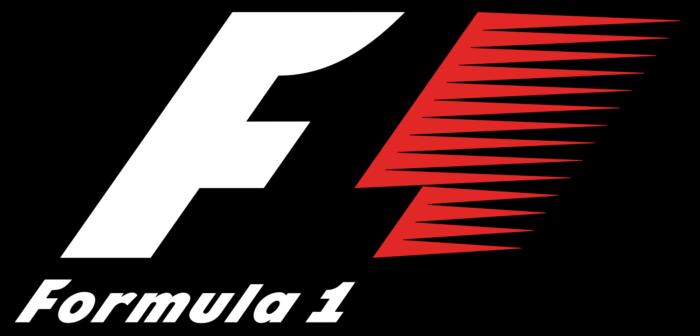 F1 Formula 1 logo, black background