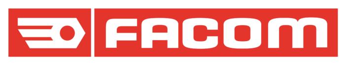 Facom logo, red
