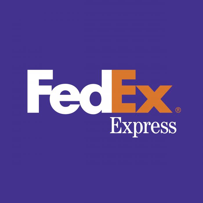 FedEx Express logo violet