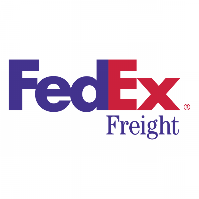 FedEx Express logo violet r