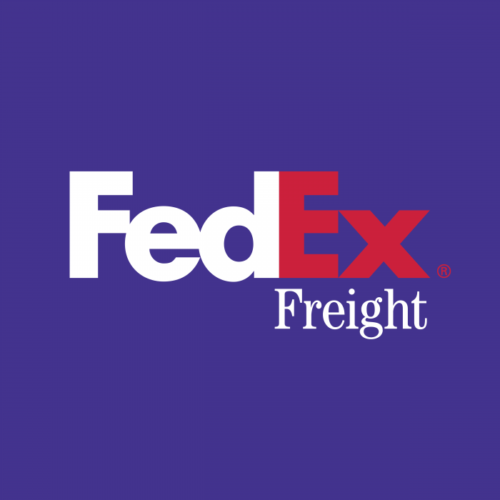 FedEx Express logo violet red