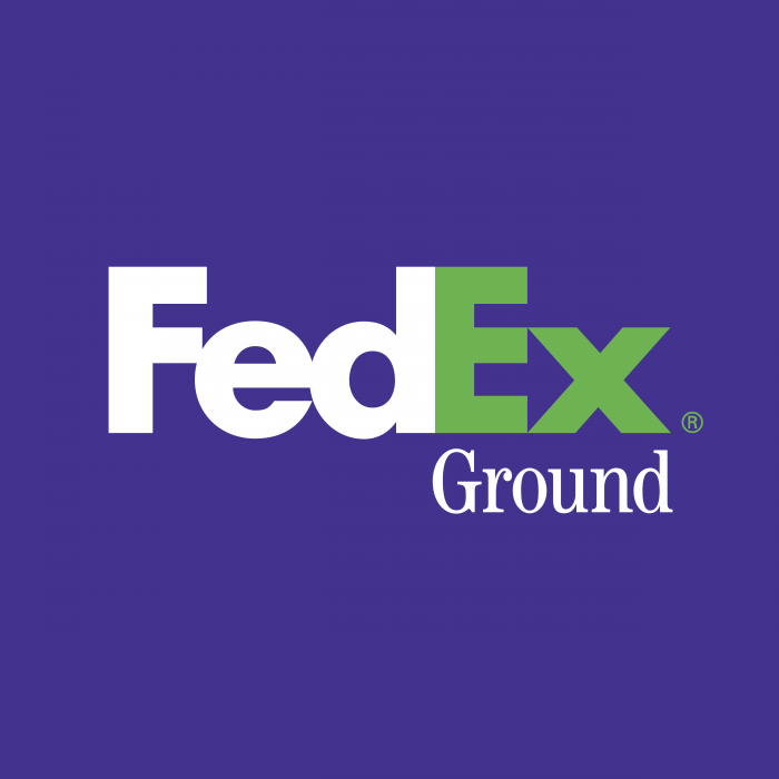 FedEx Ground logo green