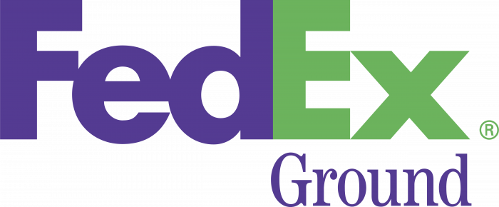 FedEx Ground logo violet