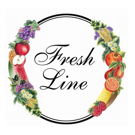 Fresh Line logo, white backgrounnd