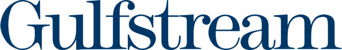 Gulfstream logo, blue
