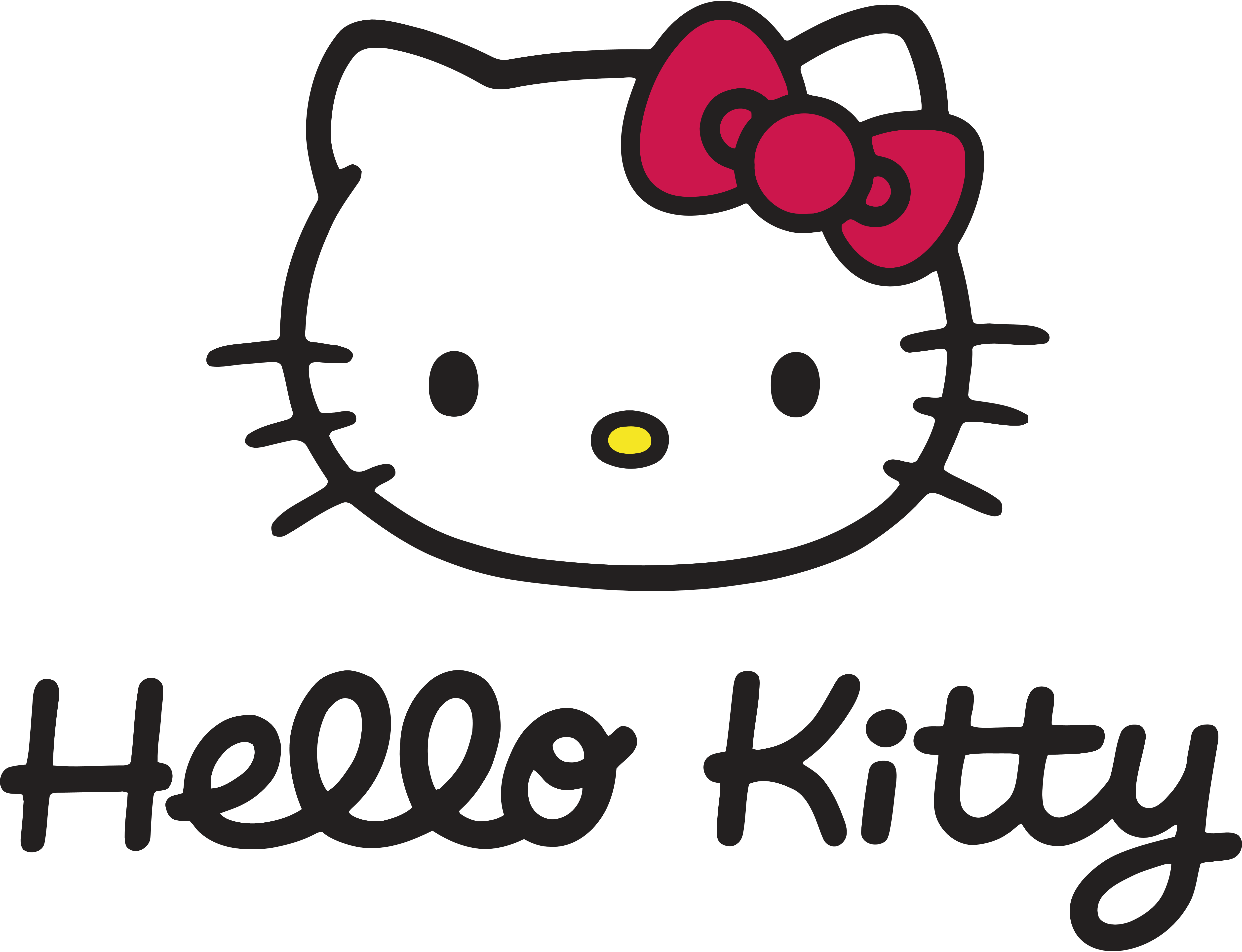 hello kitty logos download. Black Bedroom Furniture Sets. Home Design Ideas