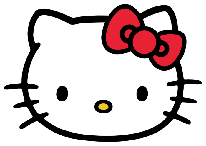 Hello Kitty logo, muzzle