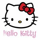Hello Kitty logo pink