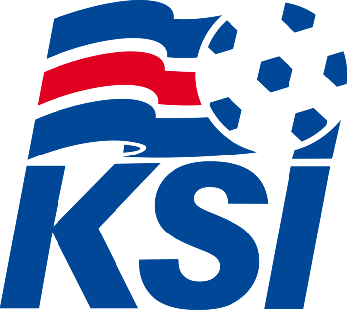 Iceland national football team logo, KSI