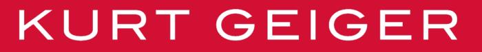Kurt Geiger logo, pink-red