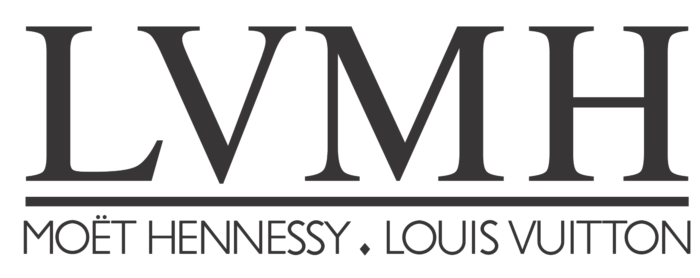 LVMH logo, logotype - Moët Hennessy Louis Vuitton