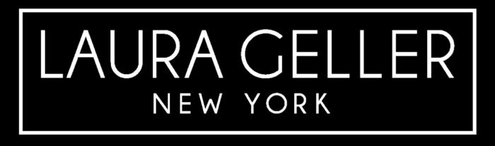 Laura Geller logo, black
