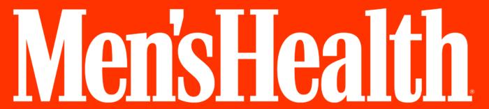 Men's Health logo, orange bg