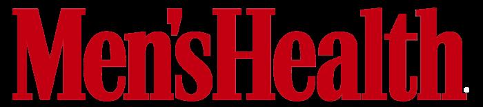 Men's Health logo, red