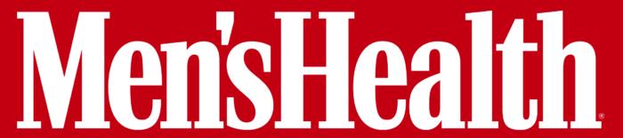 Men's Health logo, red background